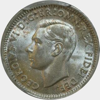 1951-PL  Threepence obverse