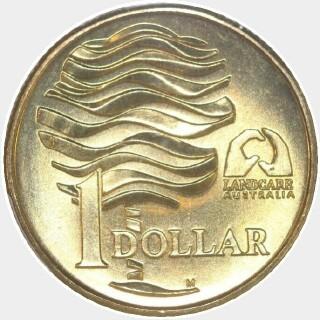 1993-M  One Dollar reverse