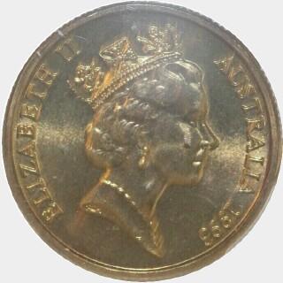 1993-M  One Dollar obverse