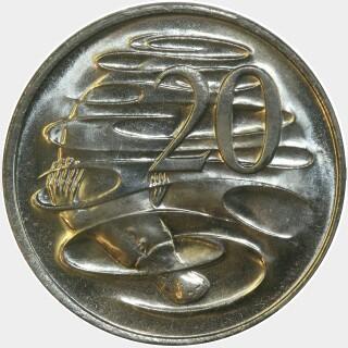 1977  Twenty Cent reverse