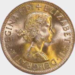 1958  Penny obverse