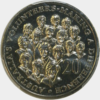 2003  Twenty Cent reverse