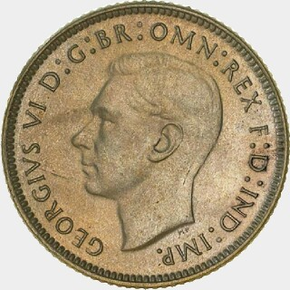 1946 Proof Sixpence obverse