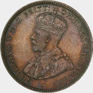 1918-M Specimen One Shilling obverse