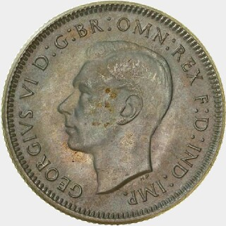 1946 Proof Shilling obverse