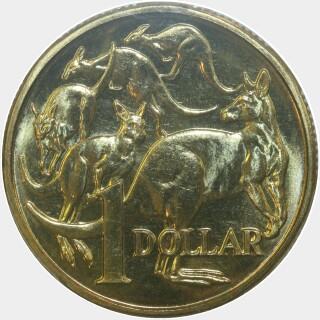 1985  One Dollar reverse