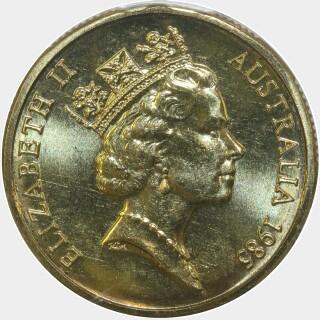 1985  One Dollar obverse