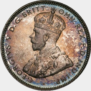 1926 Proof One Shilling obverse