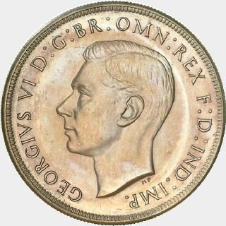 1938 Proof Crown obverse
