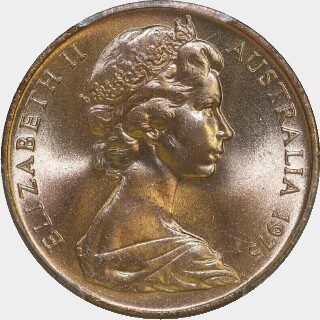 1975  Two Cent obverse
