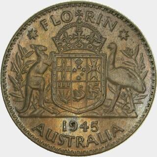 1945 Pattern (.500 Silver) Florin reverse