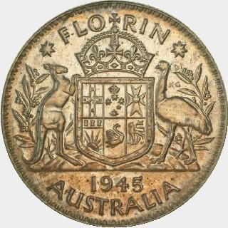 1945 Pattern (.666 Silver) Florin reverse