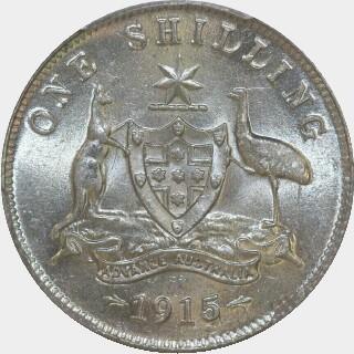 1915  Shilling reverse