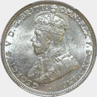 1915  Shilling obverse