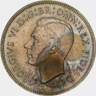 1951 Proof Florin obverse