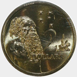 2002  Two Dollar reverse