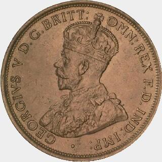 1911 Specimen Penny obverse