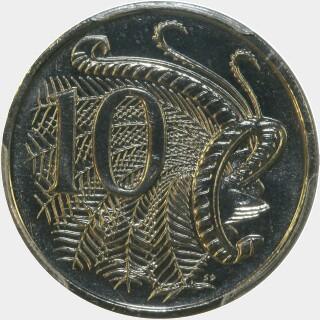 1998  Ten Cent reverse