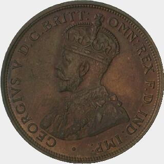 1912-H Specimen Penny obverse