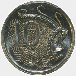 1991  Ten Cent reverse