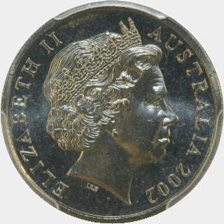 2002  Ten Cent obverse