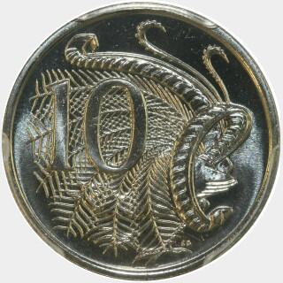 1985  Ten Cent reverse