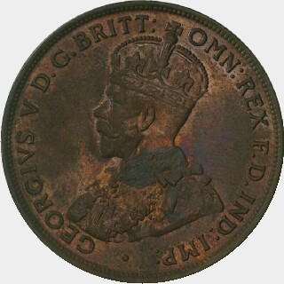 1933 Proof Penny obverse