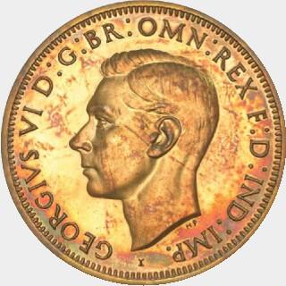 1943-I Restrike Penny obverse