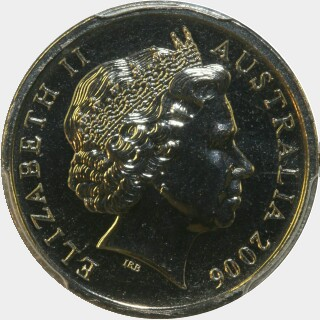 2006  Five Cent obverse