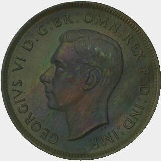 1944-Y Proof Penny obverse
