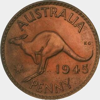 1945 Pattern Penny reverse