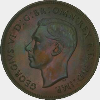1945-Y Proof Penny obverse