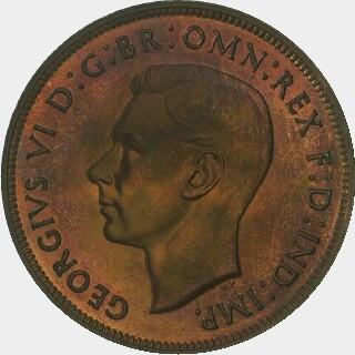 1947-Y Proof Penny obverse
