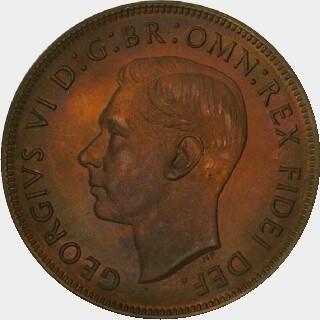1951-Y Proof Penny obverse