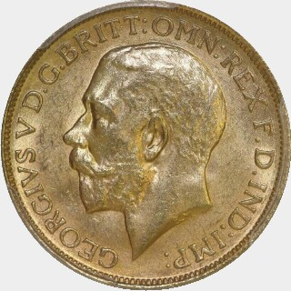1917-P  Full Sovereign obverse