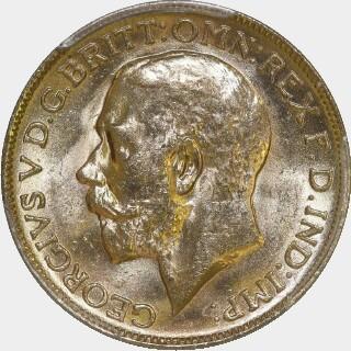 1919-P  Full Sovereign obverse