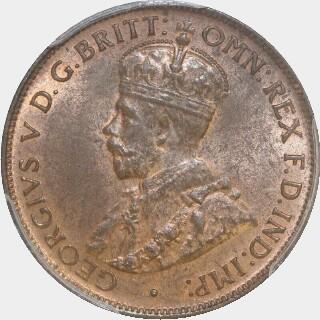 1931  Half Penny obverse
