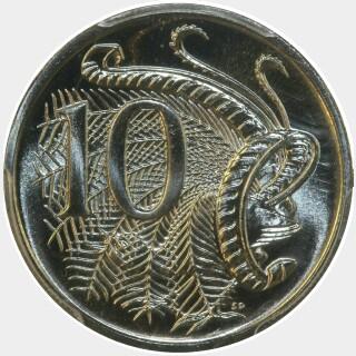 1990  Ten Cent reverse