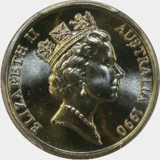 1990  Ten Cent obverse