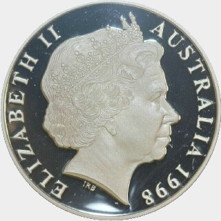 1998 Proof One Dollar obverse