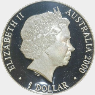 2000 Proof One Dollar obverse