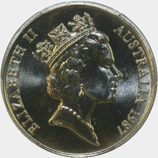 1987  Ten Cent obverse