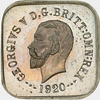 1920 Type 1 Half Penny obverse