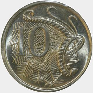 1979  Ten Cent reverse