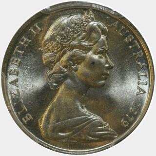 1979  Ten Cent obverse