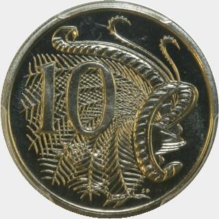 1984  Ten Cent reverse