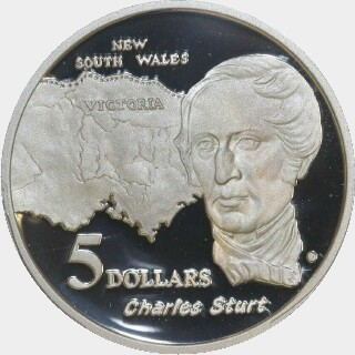 1994 Proof Five Dollar reverse
