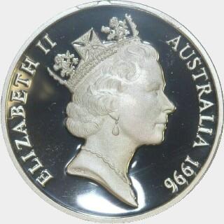 1996 Proof Five Dollar obverse