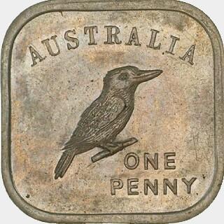 1919 Type 3 Penny reverse