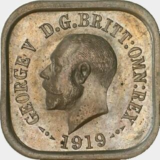 1919 Type 3 Penny obverse